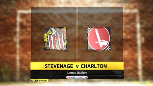 Stevenage 1-0 Charlton
