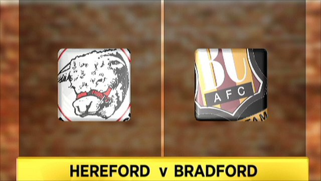 Hereford v Bradford