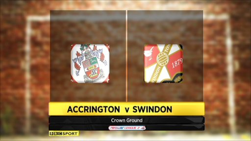 Accrington 0-2 Swindon