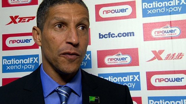 Birmingham's Chris Hughton