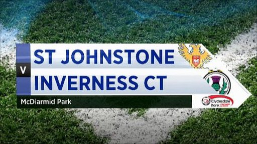 St Johnstone v Inverness CT