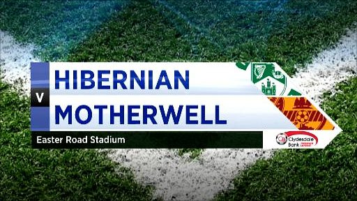 Hibernian v Motherwell