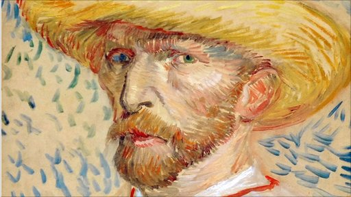 Vincent Van Gogh self potrait