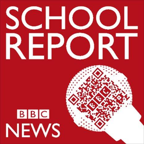 School Report QR code