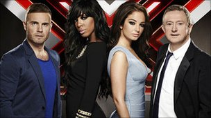2011 X Factor judges