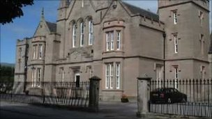 Dingwall Sheriff Court. Pic: Crown