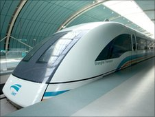 THE 'MAGLEV ' OR MAGNETIC LEVITATION TRAIN