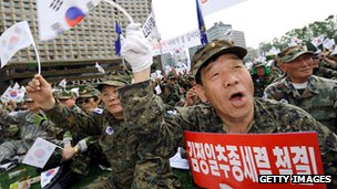 South Korean veterans mark the anniversary of the Korean War