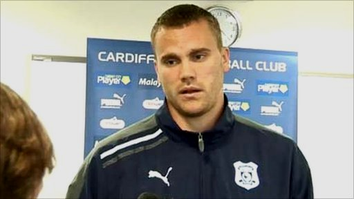 Cardiff City centre-back Ben Turner