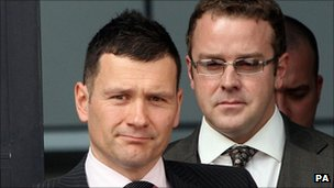 Mark Jones and Neil Brown: Two of the officers bringing the case