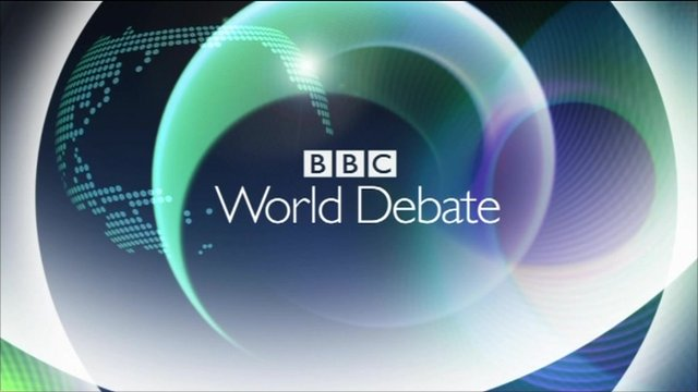 BBC World Debate logo