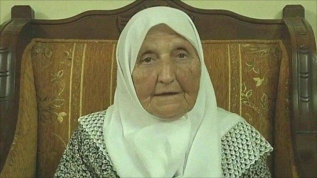 Wife of a Palestinian prisoner
