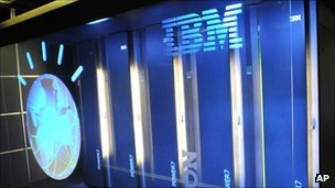 IBM computer system known as Watson at IBM's TJ Watson research centre, Yorktown Heights, New York