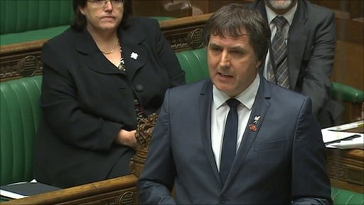 Labour's Steve Rotherham speaking in the Commons