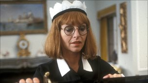 Liza Goddard who played Philippa Vale