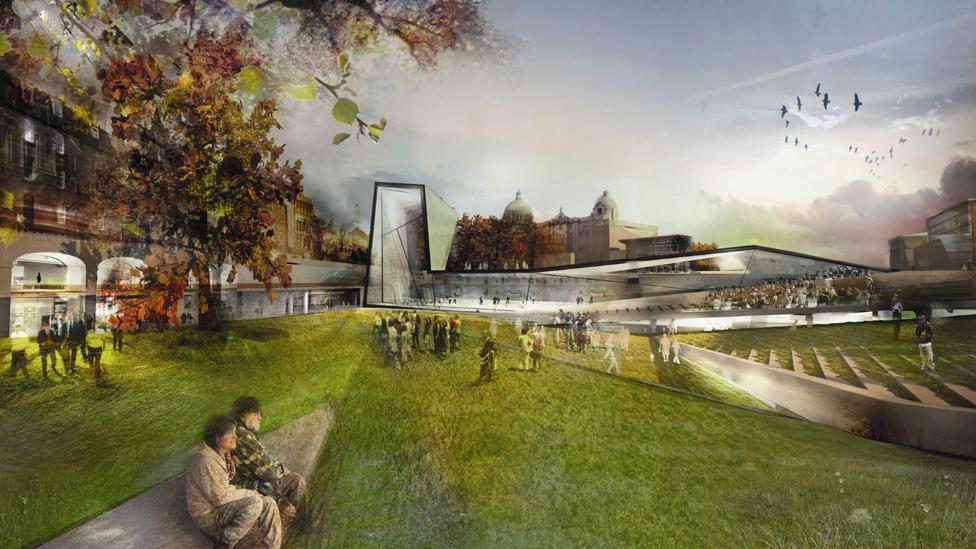 Bbc news in pictures aberdeen city garden designs for Terrace 33 city garden