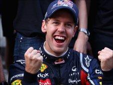 World champion Sebastian Vettel