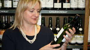 Oddbins head of buying, Emma Nichols