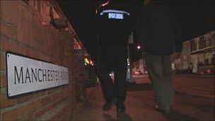 Police in Broadgreen, Swindon