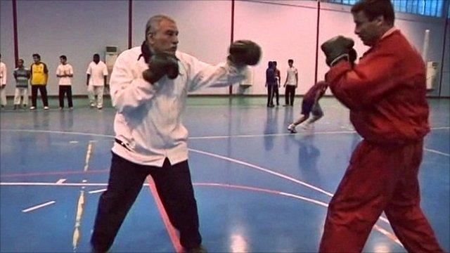 Veteran Libyian boxers