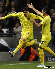 Cani scored the opener for Villarreal