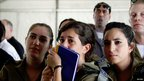 IDF spokespersons&#039; unit watching Gilad Shalit&#039;s release (18 October 2011)