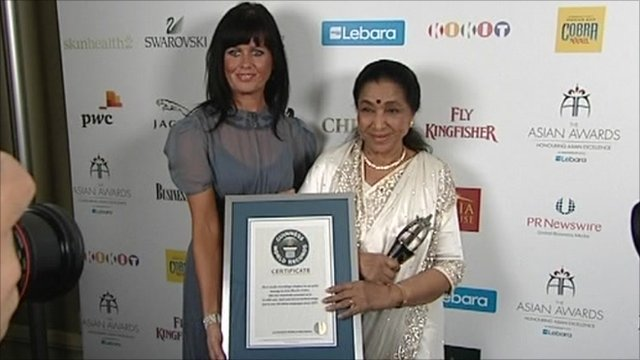 Freddie Mercury and Asha Bhosle among London's Asian Award winners