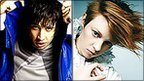 Example (left) and La Roux (right) (Example portrait courtesy of Roger Rich / Camera Press)