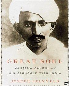 Front cover of Joseph Lelyveld's book about Mahatma Gandhi