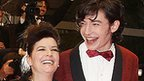 Lynne Ramsay and Ezra Miller