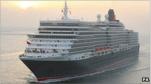 New Queen Elizabeth cruise liner