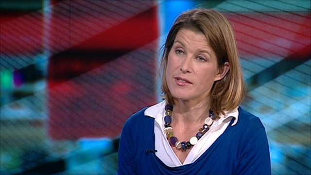 The BBC's economics editor Stephanie Flanders