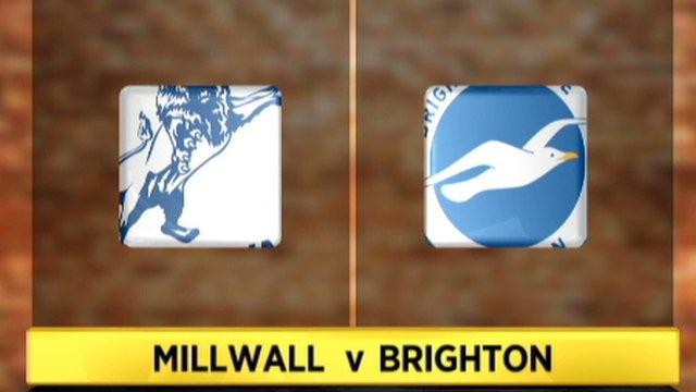 Millwall 1-1 Brighton
