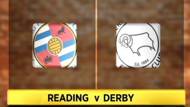 Reading 2-2 Derby