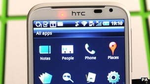 HTC's sensation XL phone