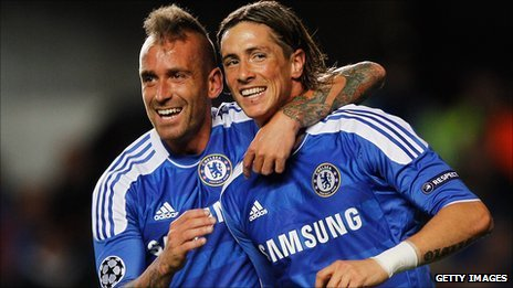 Raul Meireles and Fernando Torres
