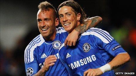 Raul Meireles and Fernando Torres