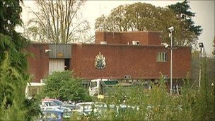 Feltham Young Offenders Institution in west London
