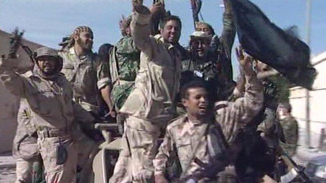 NTC troops in Sirte