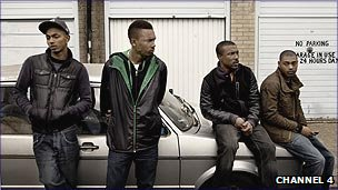Cast members from Top Boy