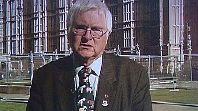Colchester MP Bob Russell
