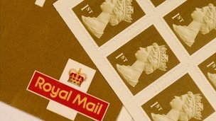 First class stamps