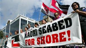 Maori protests