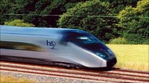 HS2 train
