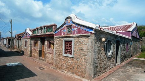 Coral stone house in Penghu