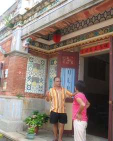A couple in Kinmen who used subsidies to turn their home into a B&B