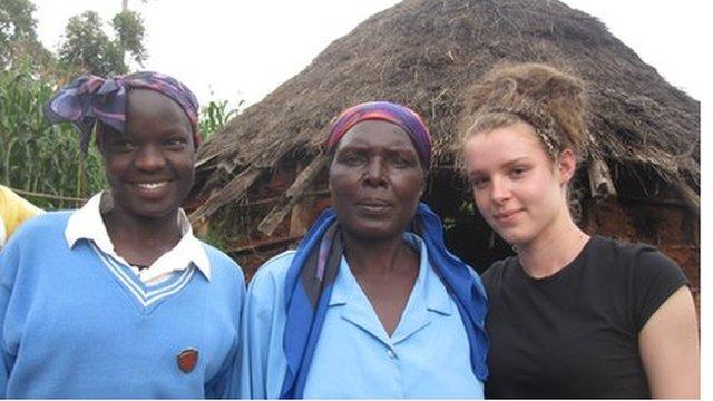 Eglah, Eglah's mum and Emma