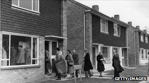 New house in Maidstone, 1957