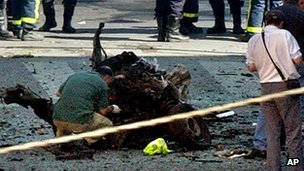 Madrid car bomb