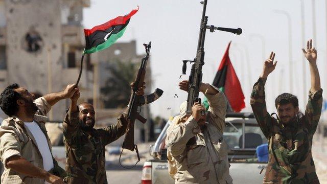 Celebrations in Sirte